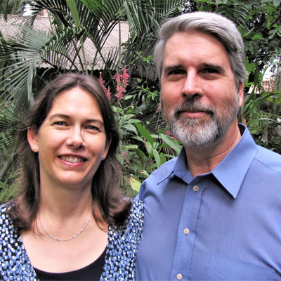 Mission co-workers Larry and Inge Sthreshley serve in Kinshasa. Larry is health liaison and Inge addresses widespread malnutrition through a range of programs.