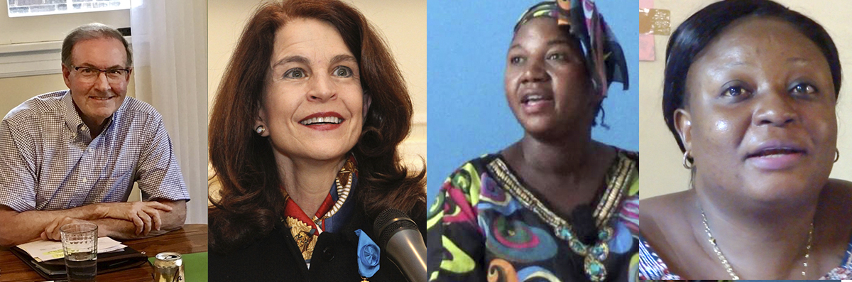 Speakers on education in Congo Jan. 23