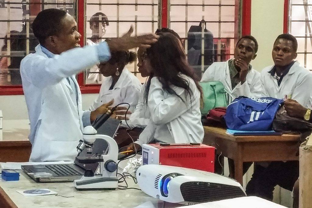 Medical School Class at UPC